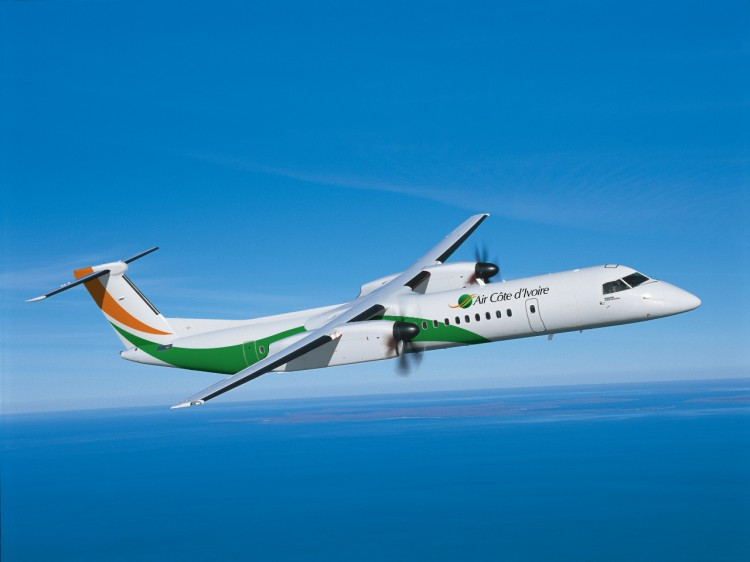 Bombardier Delivers Two Q400 NextGen Airliners to Air Côte d'Ivoire