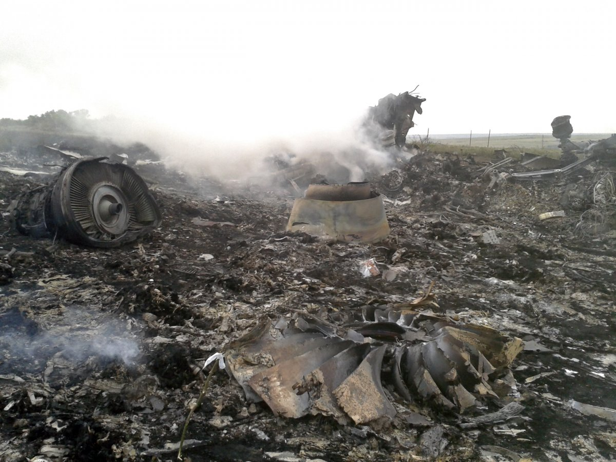 Crash of a Boeing 777-2H6ER near Moskovs'ke: 298 killed copyright B3A